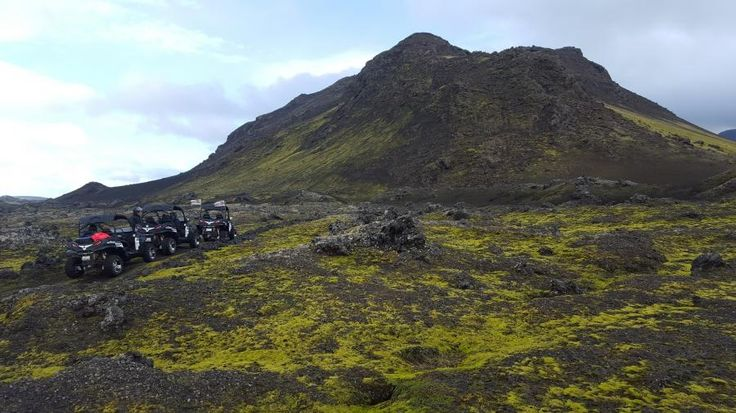 This guided tour is a unique way to enjoy Icelandic nature, yet starting off only 20 minutes from downtown Reykjavík. Have fun driving in nature and marvel at unique Icelandic landscapes in this exciting tour, including the formidable Esja mountain with Tourboks!
