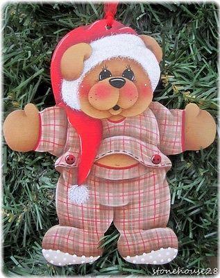HP-TEDDY-BEAR-Santa-Hat-ORNAMENT
