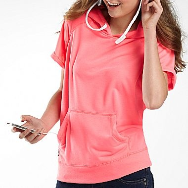 Hoodie Buddie Short Sleeve Pullover - jcpenney