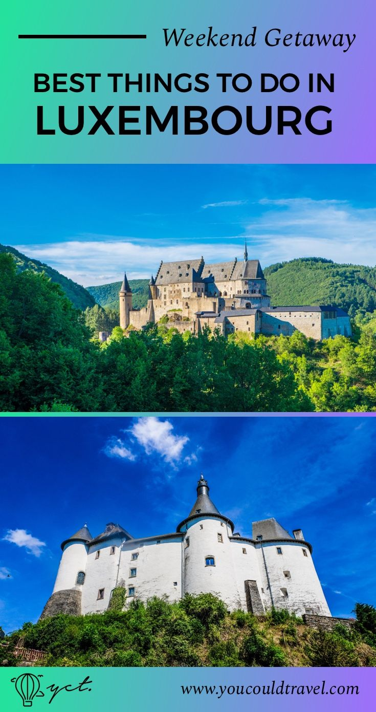 Travelling to Luxembourg? Here is a guide with all the best things to do in Luxembourg, including a list of all restaurants you have to try. We included visits to two of the most beautiful castle in Luxembourg, as well as a survival guide to be prepared for your travels. Ready for a weekend away? Learn more what what to do in Luxembourg.