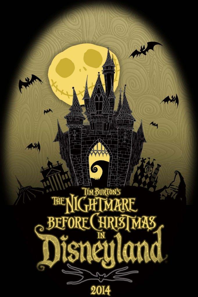 'Tim Burton's The Nightmare Before Christmas' in Disneyland
