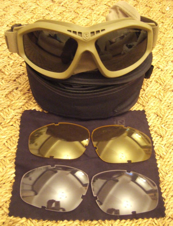 Revision Military Eyewear Bullet Ant Tactical Goggle in Tan