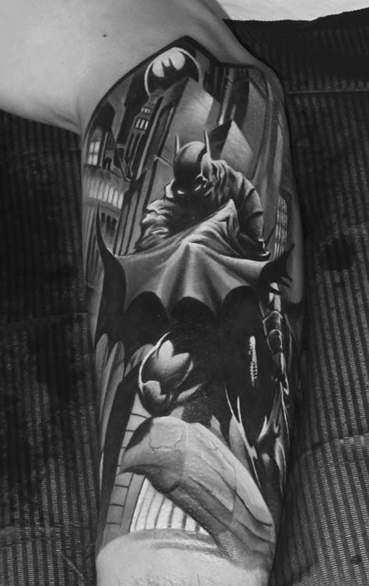 Flaming art tattoo for geek tattoo lovers this kind of batman - Deadi S Tattoos