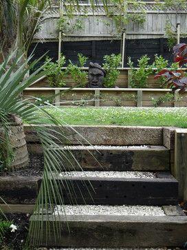 Best Gardens Images On Pinterest Railway Sleepers Garden