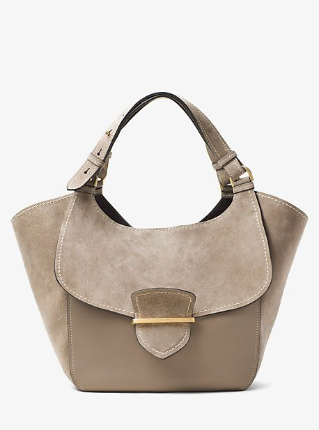 ec968c3a63f64a Josie Large Leather And Suede Tote | Products | Michael kors tote ...