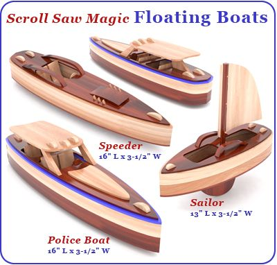 Scroll Saw Magic Floating Boats Wood Toy Plan Set link does not work, but need to find......