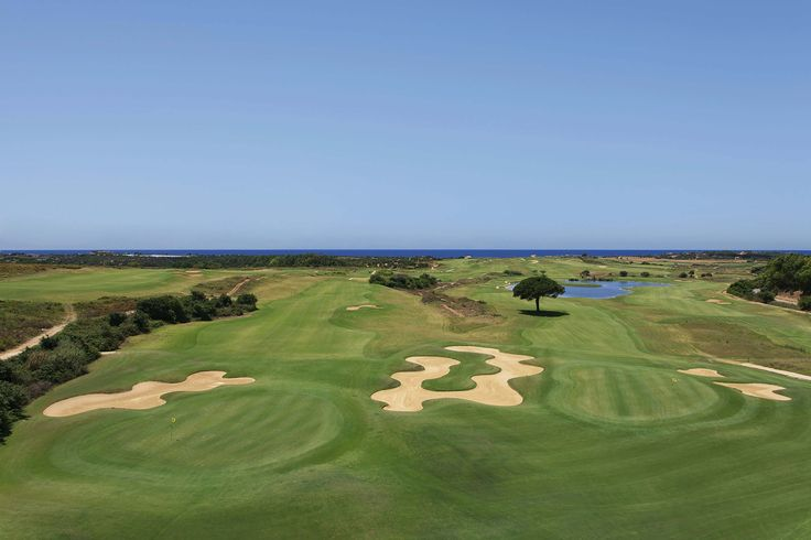 Hole 9 -18 Donnafugata South Course - Links in Sicily