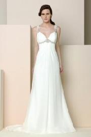 Grecian style bridal dresses