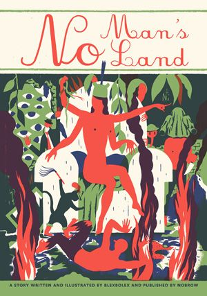 No Man's Land: A Meditation on Mortality and Self-Delusion from French Illustrator Blexbolex | Brain Pickings