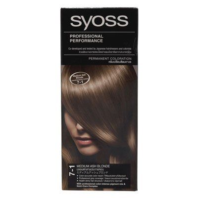 Syoss Hair Color Medium Ash Blonde No.7.1 115ml. * Click image for more details. #hairgrowth