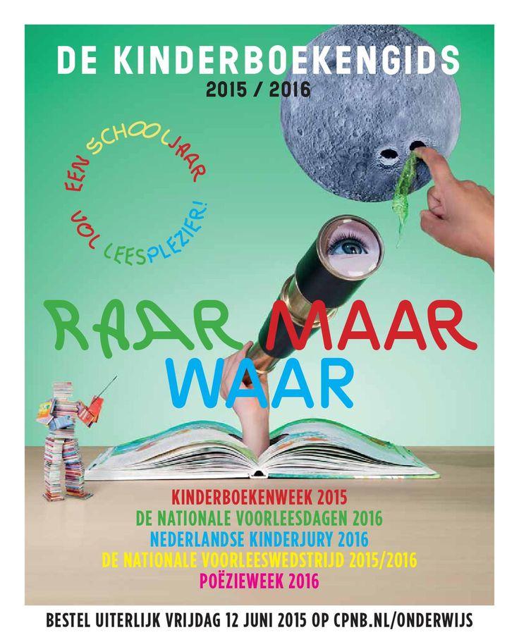 Aanbiedingsfolder met informatie over de volgende Kinderboekencampagnes: Kinderboekenweek 2015, De Nationale Voorleesdagen 2016, De Nederlandse Kinderjury 2016, De Nationale Voorleeswedstrijd 2015/2016 en Poëzieweek 2016. Lees meer op www.cpnb.nl/onderwijs