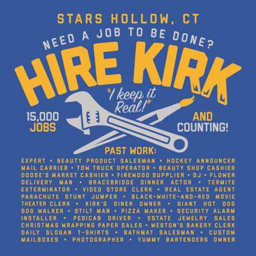 Kirk Gilmore Girls T-Shirt – Kirk Gleason