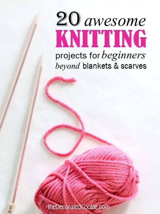 Tricô para iniciantes: um conjunto de 20 projetos fáceis de tricô
