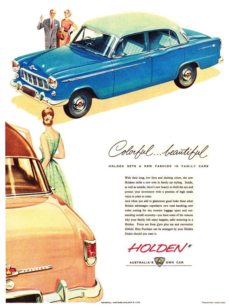 https://flic.kr/p/f6vSKg   1957 FE Holden Special Sedan Aussie Original Magazine Advertisement