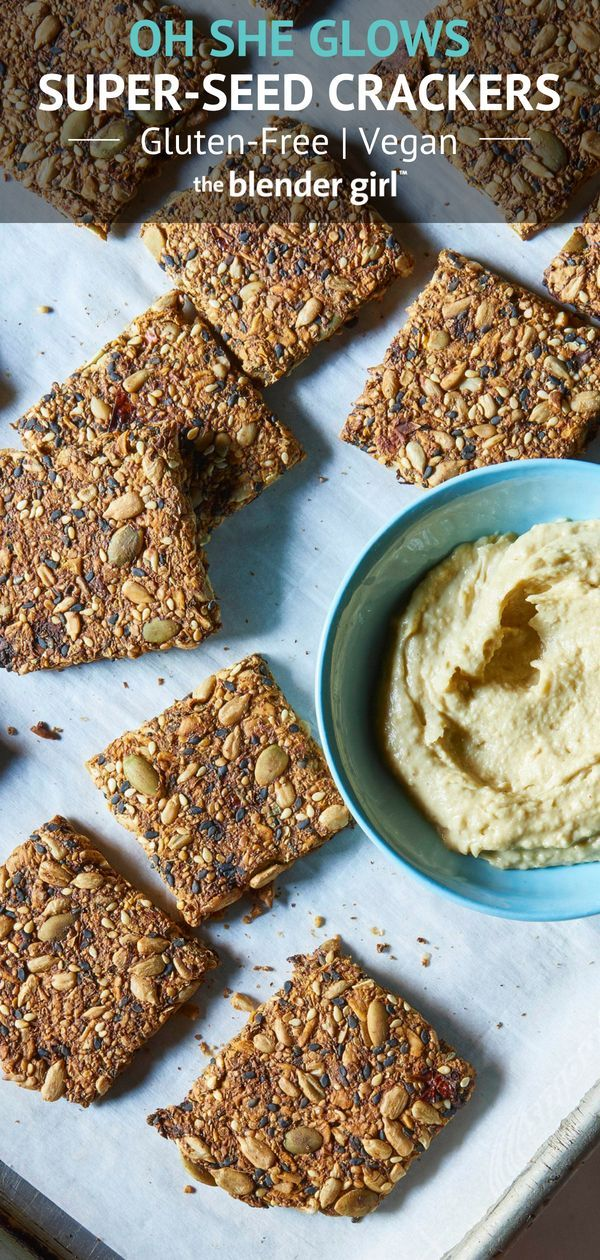 Vegan Gluten Free Crackers From Oh She Glows Vegan Cracker Recipe Gluten Free Cracker Recipe Gluten Free Crackers
