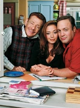 """The King Of Queens Cast, my Momma loved this show.  When she was alive and we would watch this together, she would say """"I want you to find a man like that, so I could just laugh and laugh.""""  He is funny."""