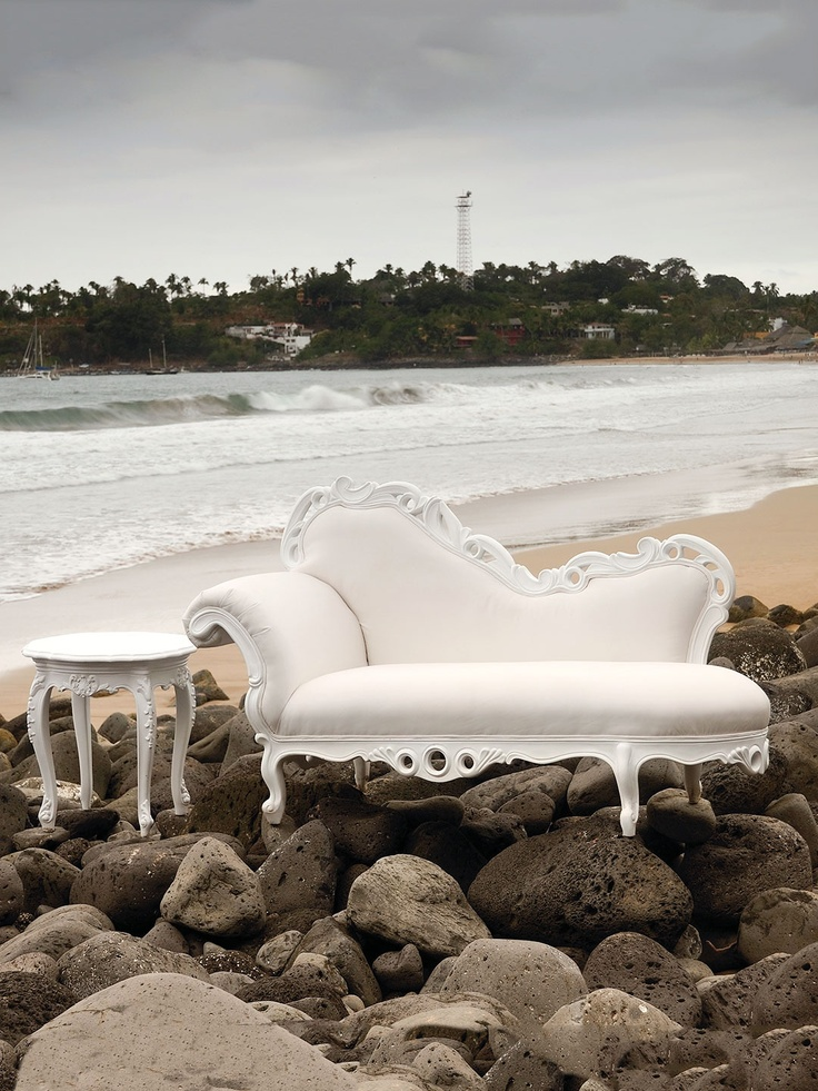 Indoor/Outdoor Chaise Lounge By POLaRT At Gilt