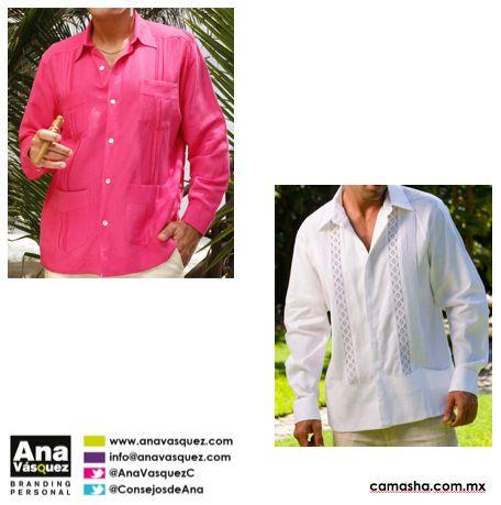 #IMAGEN (H) Si el código es cocktail de playa puedes llevar guayabera blanca o de color. via @consejosdeana en #twitter