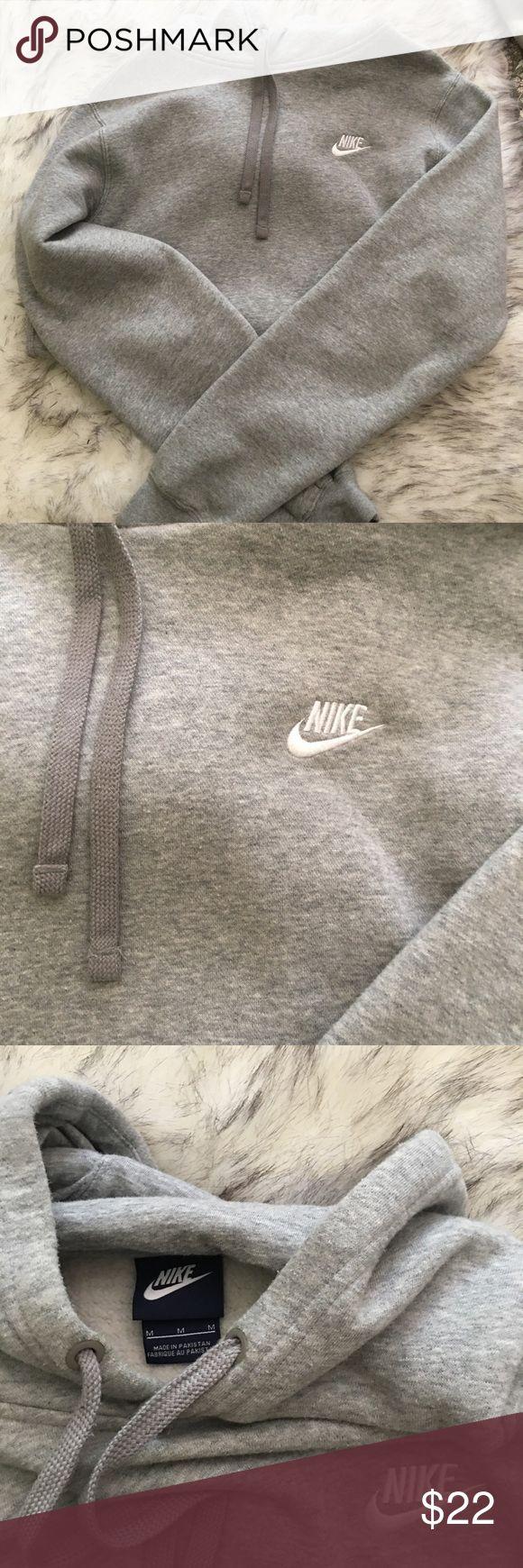 Grey Nike hoodie Grey Nike hoodie very comfy! Tops Sweatshirts & Hoodies