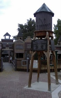Wild West Playground in West Jordan.  (site has other ideas for family outings in Utah)