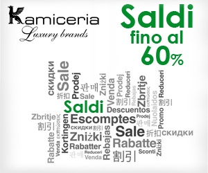 Kamiceria regala un Extra codice sconto di 30 euro acquistano almeno 3 capi