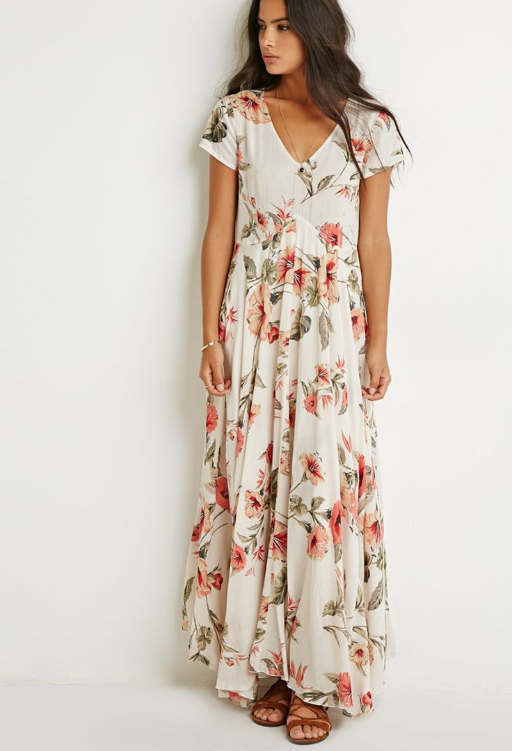 Raga Tropical Getaway Maxi Dress | Forever 21 - 2000172236