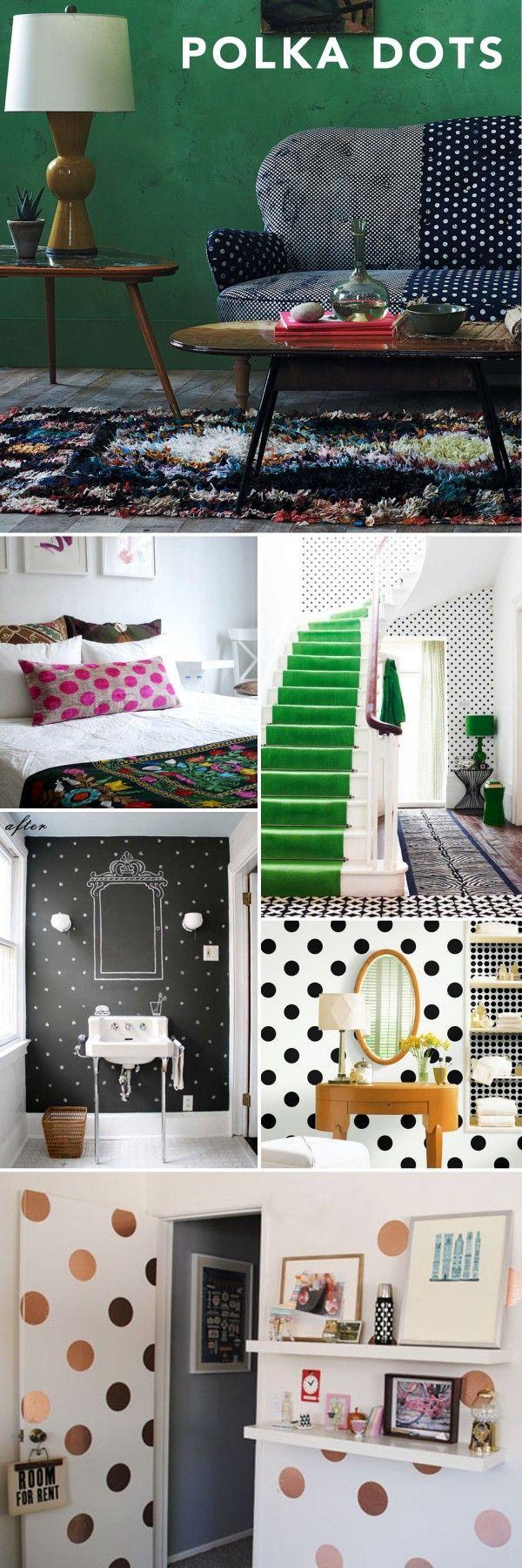 Interior Style File: Polka Dots