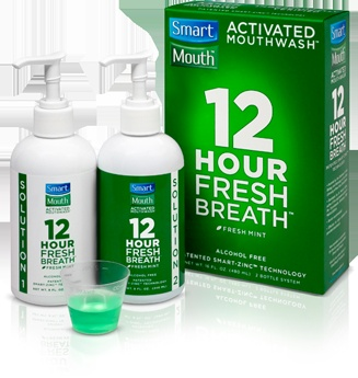 SmartMouth Mouthwash! Best ever & works! ~Amber J.: Smartmouth Mouthwash, Book Worth, Fresh Breath, Favorite Products, Life Changing, Mouthwashthi Stuff, Life Change, Freshbreath, Bathroom Counter