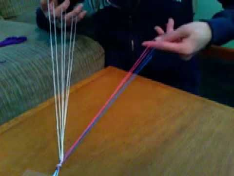 How to do 5 finger loop braid