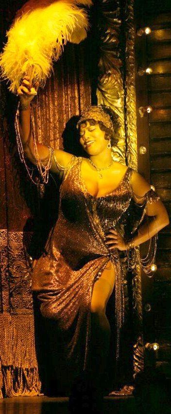 Queen Latifah as Matron Mama Morton in  'Chicago' (2002). Costume Designer: Colleen Atwood.