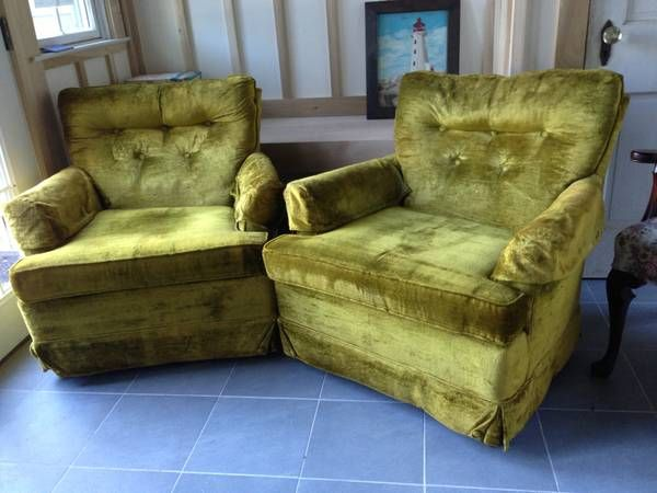 ... Chairs, Vintage Velvet, Furniture Lady, Ugly Chairs, Ugly Couch