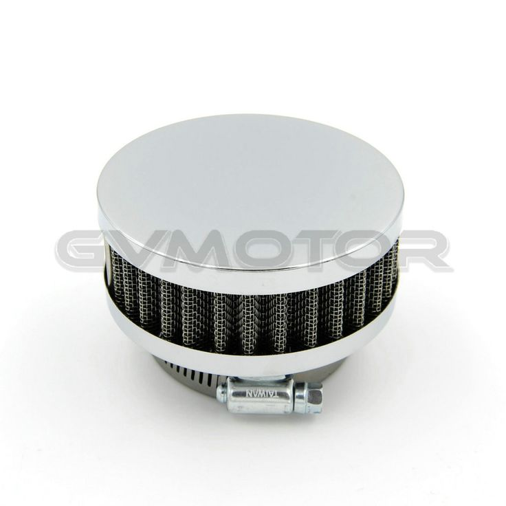 1* Stainless Ring Motorcycle Air Filter 48MM 50MM 52MM 54MM Cleaner For Yamaha SR400 HONDA CB550 CB750 Kawasaki KZ650 Zephyr 750