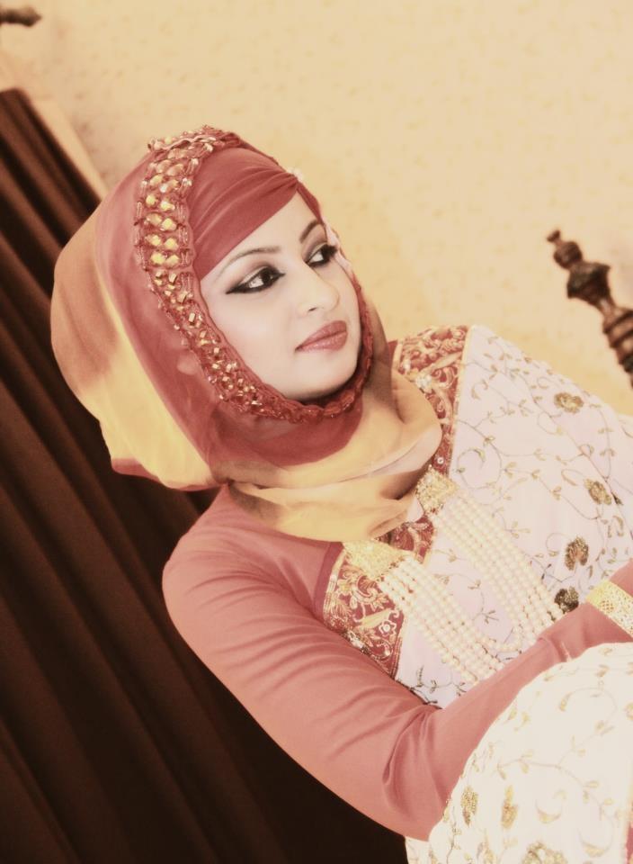 hijab and sari