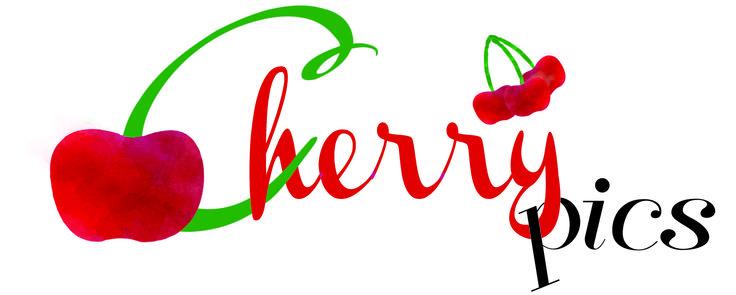 Logo Cherry Pics, ciliegie e fotografie