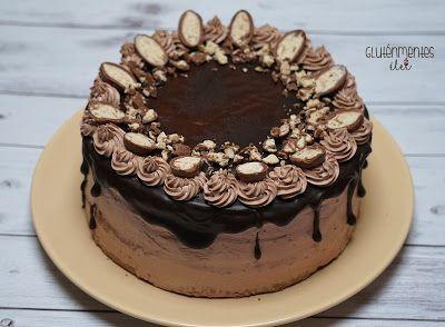 Gluténmentes Schoko bons torta | Gluténmentes élet