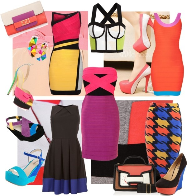 """""""Colour Blocking the Way"""" by alicia-king on Polyvore"""