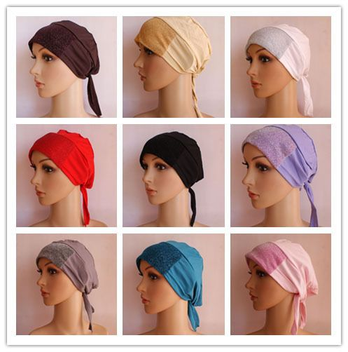 New Women Muslim Cotton Hijab bandage Inner Caps 12Pcs Islamic Amira Hats #Unbranded #Hijab