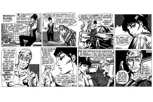 Modesty - Comic Strip 2 - Modesty Blaise - Fototapeter & Tapeter - Photowall