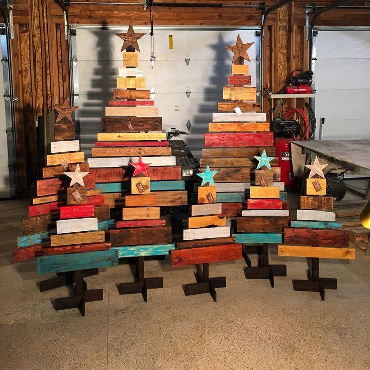Wooden Pallet Tree Ideas