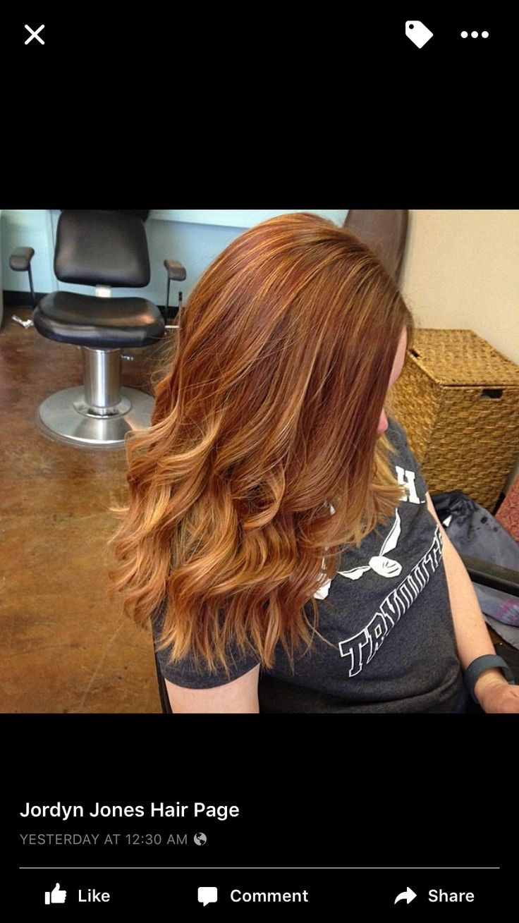 Copper Red Hair With Highlights Copper Red Redhead