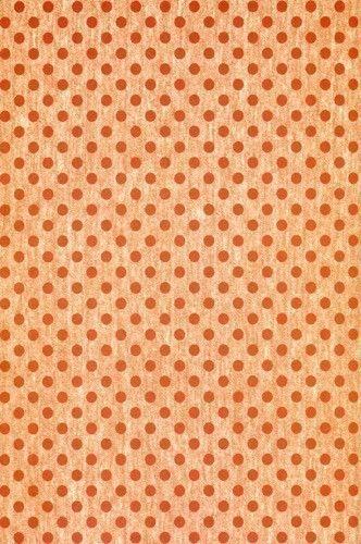 9115 Orange Dots Backdrop