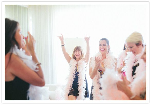 burlesque bachelorette party. I think this could be become my make-up 50th birthday party - all girl of course!