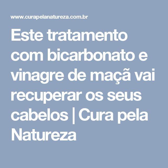 Este tratamento com bicarbonato e vinagre de maçã vai recuperar os seus cabelos   Cura pela Natureza
