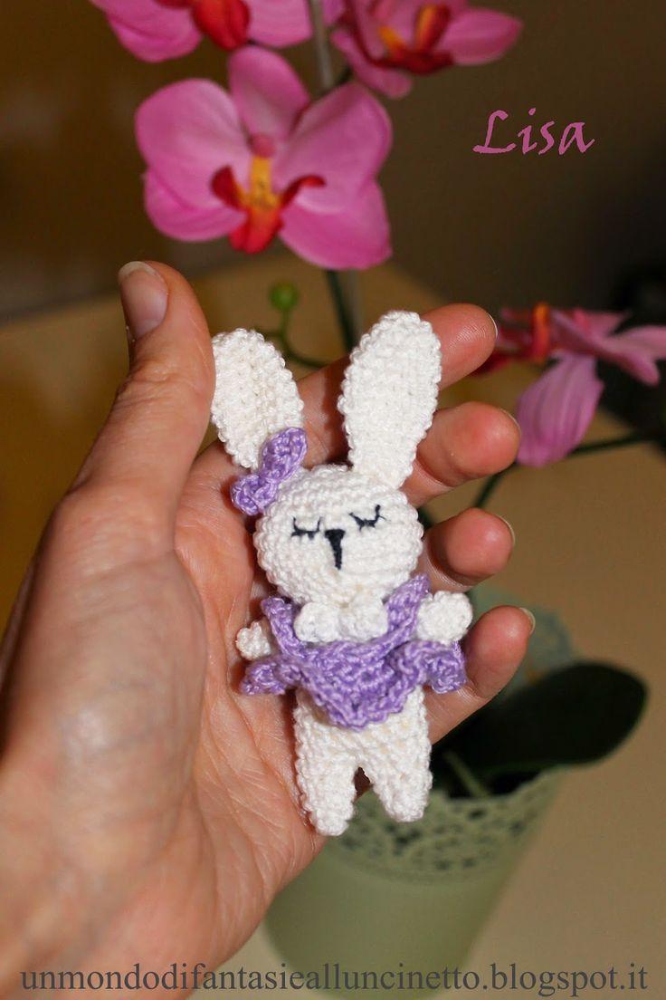 Coniglio amigurumi per Pasqua - Schema gratuito