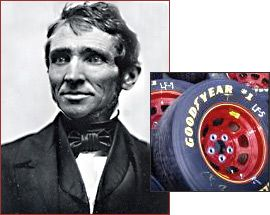 Who Made America? | Innovators | Charles Goodyear