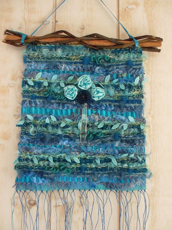 Woven wall hanging - inspiration for peg loom work?