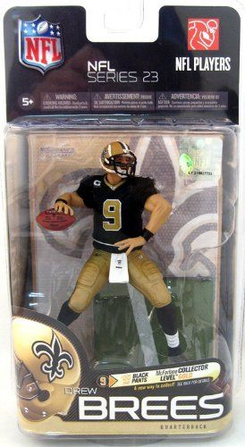 McFarlane Toys NFL Series 23  Drew Brees 3 Action Figure -- Read more reviews of the product by visiting the link on the image.Note:It is affiliate link to Amazon.