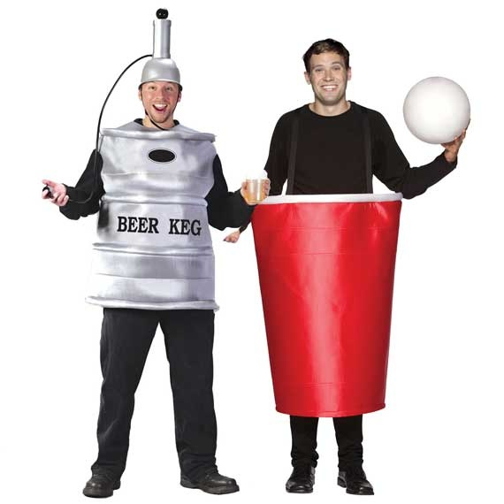 DIY Beer Costumes Couples 2012 Funny Couples Costume Ideas  Couples Costume Ideas