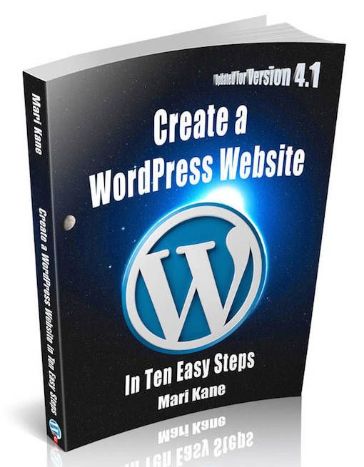My ebook, Create a Wordpress Website in Ten Easy Steps, is updated for Version 4.1! Get it on Amazon or BlogsiteStudio.com for only $3. http://blogsitestudio.com/create-a-wordpress-website-4-1/