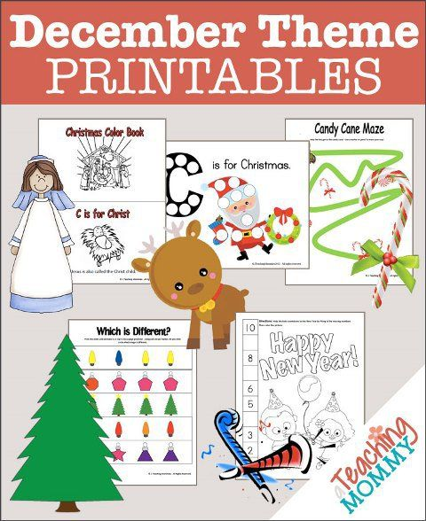 december preschool themes free 35 december themed preschool printables preschool 184